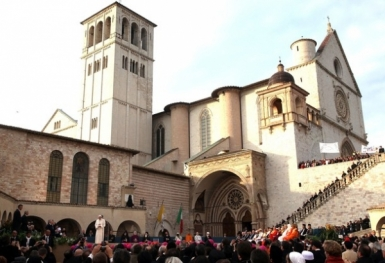 Assisi: Ngày hành hương Sự thật và cầu nguyện cho hòa bình (27.10.2011)