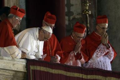 Cảm nghiệm đầu tiên về Đức giáo hoàng Phanxicô