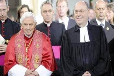 Hoạt động Đại kết của ĐGH Bênêđictô XVI tại Erfurt