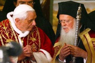 Đức Thánh Cha tiếp Phái đoàn Tòa Thượng Phụ Chính thống Constantinople