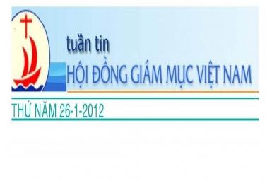Tuần tin Hội Đồng Giám Mục Việt Nam, số 04/2012
