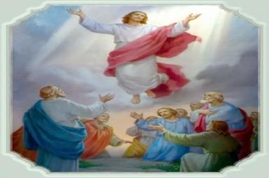 Chúa về trời: Tin Mừng CN VII PS bằng hình ảnh