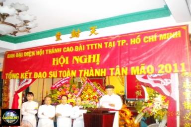 Hội Nghị Chung Niên Đạo Sự Toàn Thành 2011