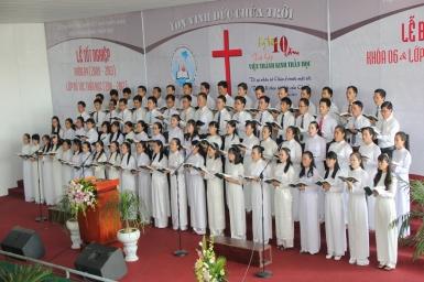 Lễ tốt nghiệp Thánh Kinh Thần học khóa 4 và kỷ niệm 10 Năm tái lập Viện Thánh Kinh Thần học