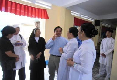 Chuyến thăm Thánh Thất Sài Gòn ngày 07.08.2010