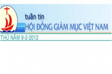 Tuần tin HĐGM Việt Nam số 6-2012