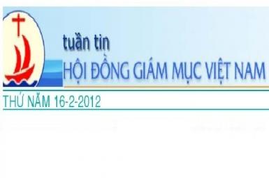 Tuần tin HĐGM Việt Nam, số 7-2012