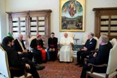 Đức Thánh Cha Phanxicô gặp các nhà lãnh đạo Do Thái