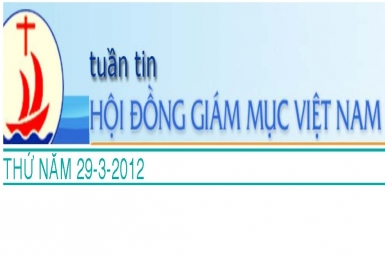 Tuần tin HĐGM Việt Nam, số 13-2012
