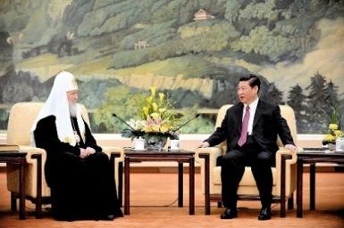 Đức Thượng phụ Chính thống Nga viếng thăm Trung Quốc