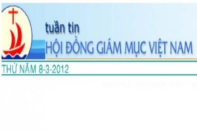 Tuần tin HĐGM Việt Nam, số 10-2012