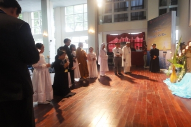 HNLT 2012: Lời nguyện của Đại diện Minh Lý Thánh Hội