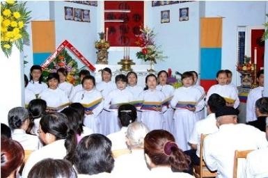 Chia sẻ Niềm vui lễ Giáng sinh với Bạn Đạo (1)