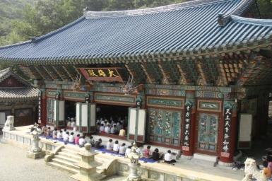 Một lần đến thăm chùa Mahasa - Hàn Quốc