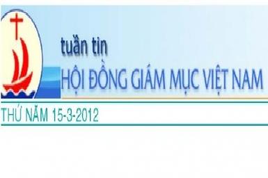 Tuần tin HĐGM Việt Nam, số 11-2012