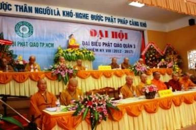 Đại Hội đại biểu Phật giáo Quận 3 - TP.HCM