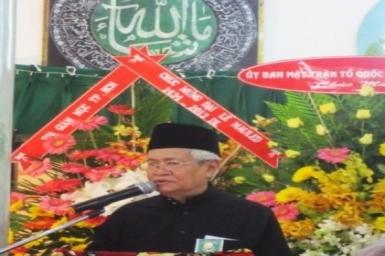 Diễn văn khai mạc Đại lễ Maulid ngày sinh Nabi Mahummad (SAW)