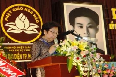 Diễn văn khai mạc lễ kỷ niệm 73 năm Khai Đạo Phật giáo Hòa Hảo