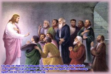 Chứng nhân của Chúa: Tin Mừng CN III PS bằng hình ảnh