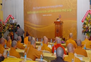 Ra mắt Truyền hình An Viên và Dải giờ Phật giáo