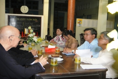 Lễ ``Tịch điền`` của Ban Mục vụ Đối thoại Liên tôn 2012