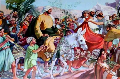 Chúa Giêsu vào thành Giêrusalem: TM Chúa Nhật Lễ Lá bằng hình ảnh