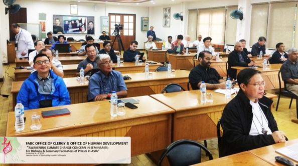 Đào tạo Chủng sinh châu Á: Hội thảo về sự Biến đổi Khí hậu