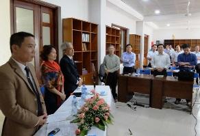 Chủng sinh Hà Nội gặp gỡ đại diện tôn giáo Baha'i
