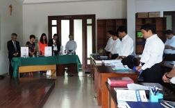 Gặp gỡ đạo hữu Baha'i tại Đại chủng viện Hà Nội