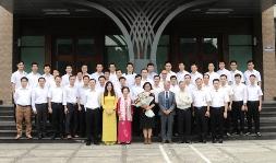 Lớp thần học IV - ĐCV Thánh Giuse Hà Nội gặp gỡ HĐTT tôn giáo Baha'i
