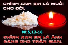 Học hỏi Phúc âm CN V TN A (Mt 5, 13-16) - P.1