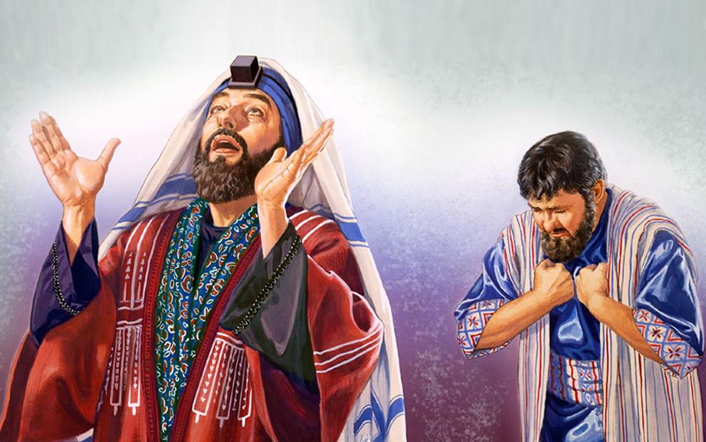 Cách cầu nguyện: Tin Mừng CN XXX TN C bằng hình ảnh