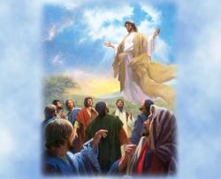 Chúa lên trời: Tin Mừng CN VII Phục Sinh bằng hình ảnh