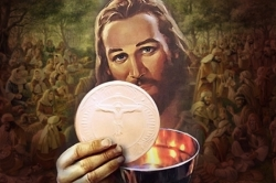 Thánh Thể: Tin Mừng CN Mình Máu Thánh Chúa bằng hình ảnh