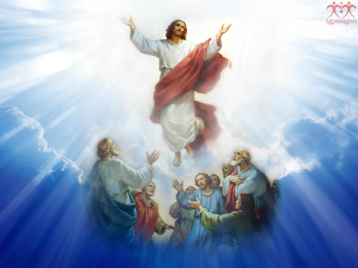Tin Mừng CN Chúa Thăng Thiên A bằng hình ảnh