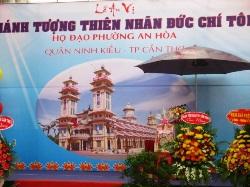 Lễ an vị Thánh Tượng Thiên Nhãn tại TT Họ Đạo An Hòa