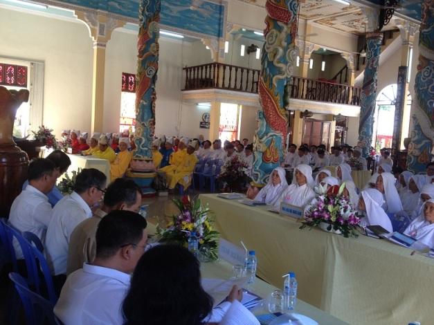 Hội thánh Cao Đài Ban Chỉnh đạo tổ chức Đại hội Đại biểu Nhơn sanh nhiệm kỳ 2017-2022