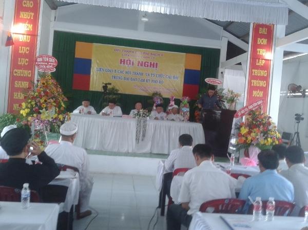 Các Hội thánh và tổ chức Cao Đài tổ chức Hội nghị liên giao lần thứ X