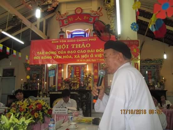 Xu hướng hành đạo của đạo Cao Đài trong bối cảnh toàn cầu hóa, hội nhập quốc tế