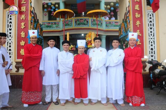 Lễ tiếp rước huấn lịnh bổ nhiệm Tân Phó Ban Đại diện HT Cao Đài TTTN tại TP. HCM
