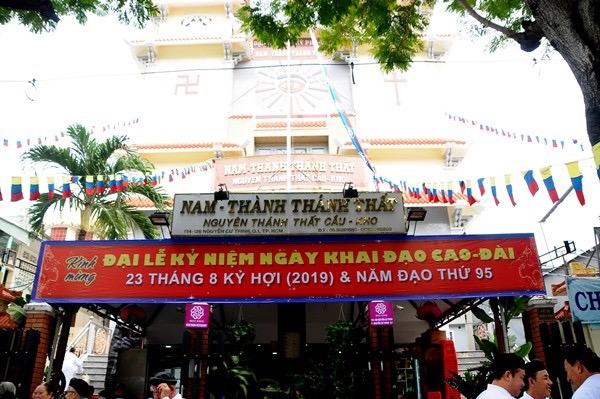 Đại lễ kỷ niệm 93 năm ngày Khai đạo Cao Đài tại TP.HCM