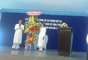 Bạc Liêu: Lễ kỷ niệm tại Cao Thượng Bửu Tòa