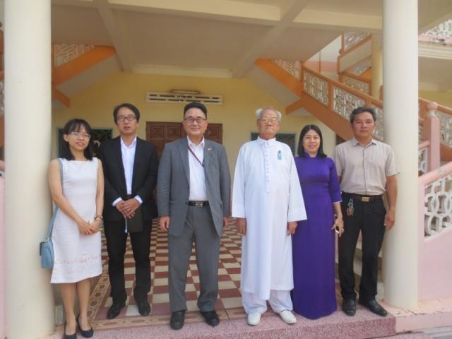 Hội thánh tiếp Tổng Lãnh Sự Nhật Bản tại TP.HCM đến chào thăm