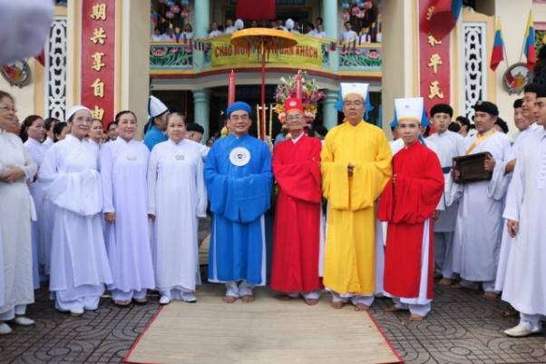 Lễ tiếp rước huấn lịnh bổ nhiệm tân Ban Cai quản Họ Đạo quận 5 SàiGòn