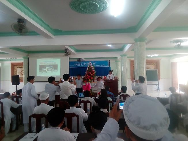 Hội thảo đề án thành lập Học viện Cao Đài