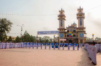 HT Cao Đài Tòa Thánh Tây Ninh:  Đại lễ Đức Chí Tôn 2016