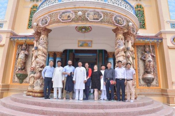 Phái đoàn Ủy ban Tự do Tôn giáo Quốc tế thuộc Bộ Ngoại giao Hoa Kỳ thăm TT Tây Ninh