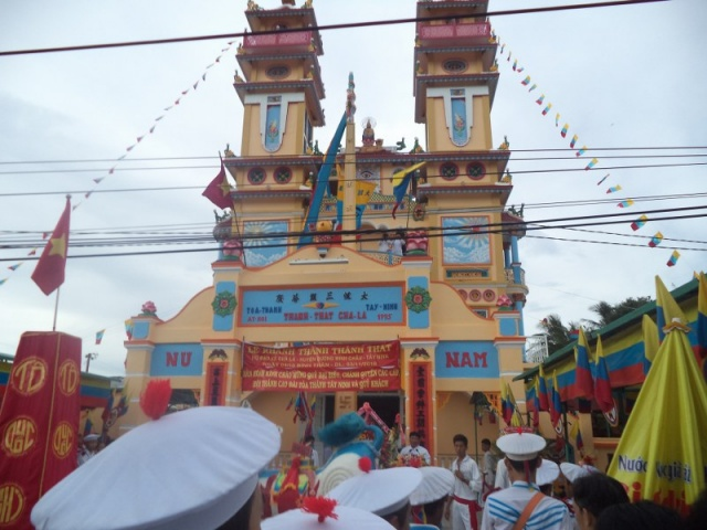 Lễ khánh thành thánh thất họ đạo xã Chà Là - Tây Ninh