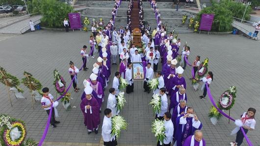 Giáo phận Thái Bình: Tang lễ Đức cha Phanxixô Xaviê Nguyễn Văn Sang