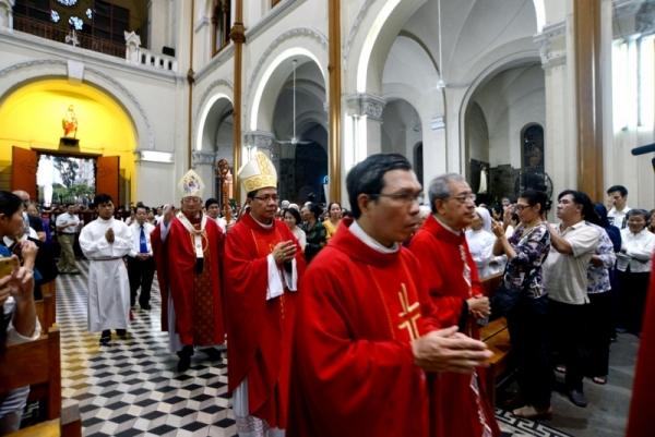Tổng giáo phận Sài Gòn: Thánh lễ Bế mạc Năm Thánh Lòng Thương Xót